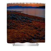 Lake Jocassee Sunrise Shower Curtain