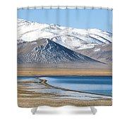 Lake Kara Kul Shower Curtain