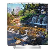 Lake Katherine 1 Shower Curtain