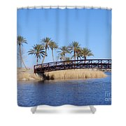 Lake Las Vegas Shower Curtain