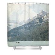 Lake Louise Solitude - Alberta Canada - Square Shower Curtain