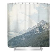 Lake Louise Solitude - Alberta Canada Shower Curtain
