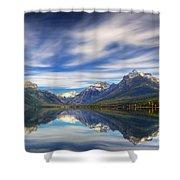 Lake Macdonald Shower Curtain