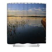 Lake Massabesic - Auburn New Hampshire Shower Curtain
