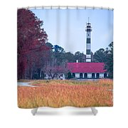 Lake Mattamuskeet Pumping Station Shower Curtain
