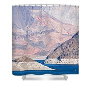 Lake Mead National Recreation Area Shower Curtain
