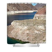 Lake Mead In 2000 Shower Curtain