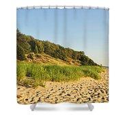 Lake Michigan Dunes 01 Shower Curtain