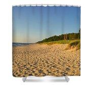 Lake Michigan Dunes 03 Shower Curtain