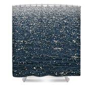 Lake Michigan Sparkling Water Shower Curtain