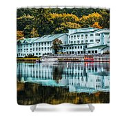 Lake Morey Inn And Resort Shower Curtain
