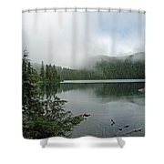 Lake Mowich Shower Curtain
