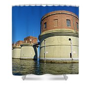 Lake Murray Sc Dam Shower Curtain