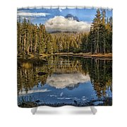 Lake Near Olmstead Point Yosemite Shower Curtain