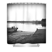 Lake Ngaroto Shower Curtain