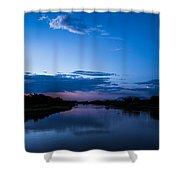Lake Nm Shower Curtain