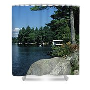 Lake Norway 07 Shower Curtain