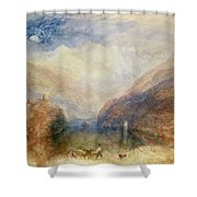 Lake Of Brienz Shower Curtain