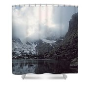 Lake Of Glass Shower Curtain by Eric Glaser