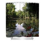 Lake On The Plantation Shower Curtain