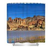 Lake Owyhee Shower Curtain