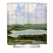 Lake Parker In Glover Shower Curtain