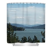 Lake Pend O'reille Shower Curtain