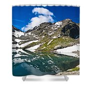 lake Pietra Rossa - Italy Shower Curtain