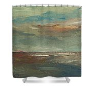 Lake Pontchartrain Sunset Shower Curtain