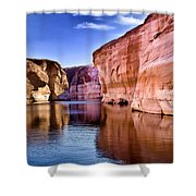 Lake Powell Antelope Canyon Shower Curtain