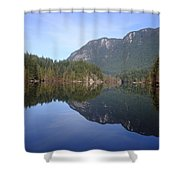 Buntzen Lake, Bc Reflections Shower Curtain