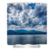 Lake Santeetlah In Great Smoky Mountains Nc Shower Curtain