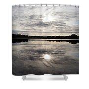 Lake Seminole Shower Curtain