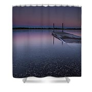 Lake Shaokatan Shower Curtain