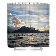 Lake Side Shower Curtain