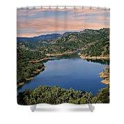 Lake Sonoma - California Shower Curtain
