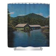 Lake Squam Off Rte. 3 In Holderness Nh Shower Curtain
