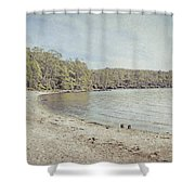 Lake St. Clair In Tasmania Shower Curtain