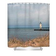 Lake Storm Shower Curtain
