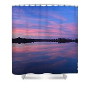 Lake Sunrise Shower Curtain