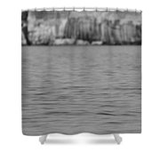 Lake Superior At Pictured Rocks Shower Curtain