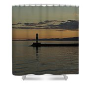 Lake Superior Grand Marais 8 Shower Curtain