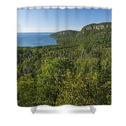 Lake Superior Grand Portage 2 Shower Curtain