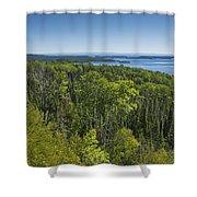 Lake Superior Grand Portage 3 Shower Curtain