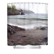 Lake Superior Tettegouche 2 Shower Curtain