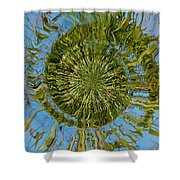 Lake Swirl Shower Curtain