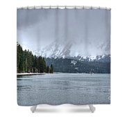 Lake Tahoe IIi Shower Curtain