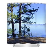Lake Tahoe In The Morning Shower Curtain