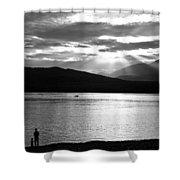 Lake Te Anau Shower Curtain