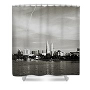 Lake Titiwangsa Shower Curtain